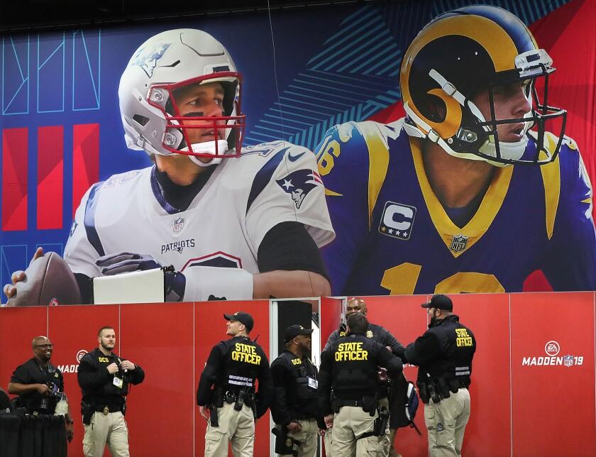 Super Bowl LIII New England Patriots' media availability