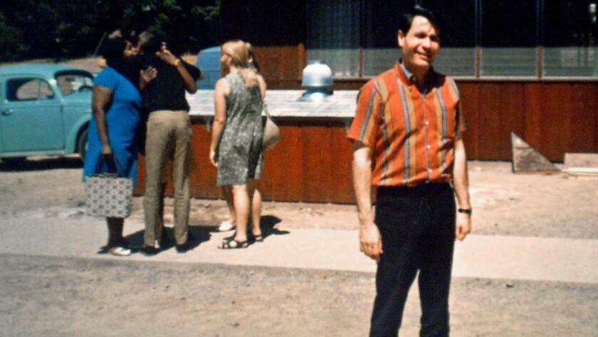 Jim Jones at the Peoples Temple in Ukiah, Calif., in the mid-1970s.