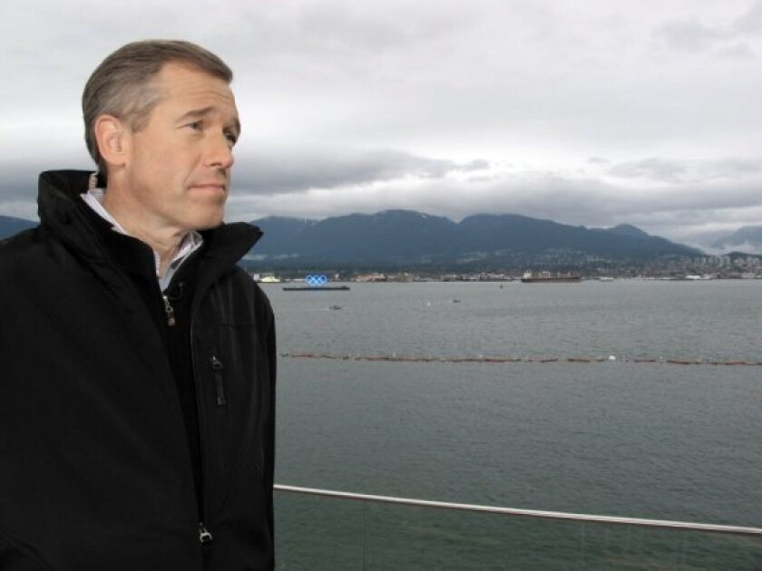 NBC anchor Brian Williams (seen here in 2010) will need to take a break to get knee surgery.