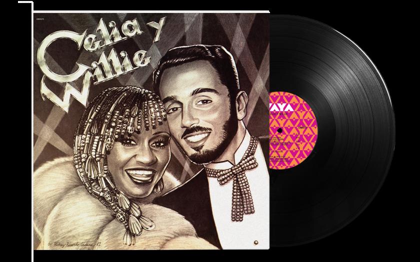 """Esta es la portada del álbum """"Celia y Willie"""" (1981), que cuenta ahora con una nueva edición."""