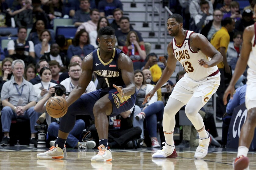 Cavaliers Pelicans Basketball