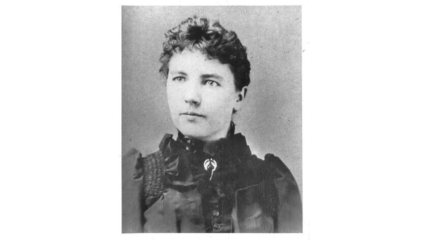 Laura Ingalls Wilder at 27.