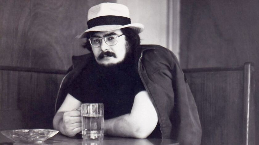 Chuck Kinder in the early 1970s in California.