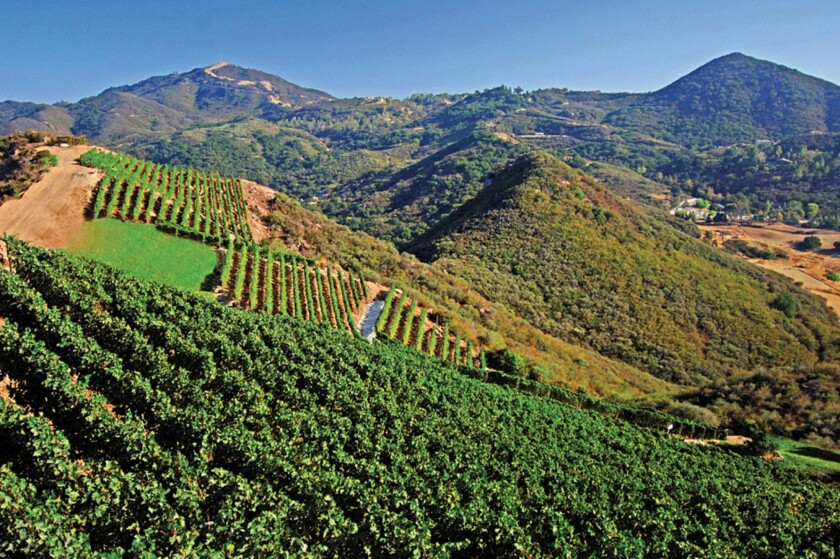 Los Angeles County supervisors approved a far-reaching land use plan for the Santa Monica Mountains on Tuesday over the objections of a group of vineyard owners but with support from a broad coalition of environmentalists, equestrians and homeowners.