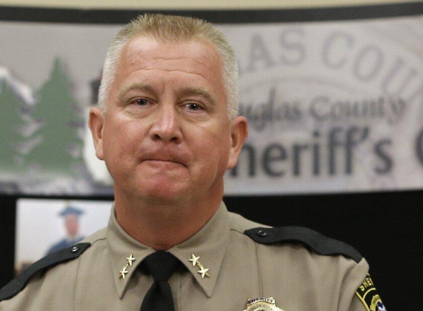 Douglas Conty Sheriff John Hanlin