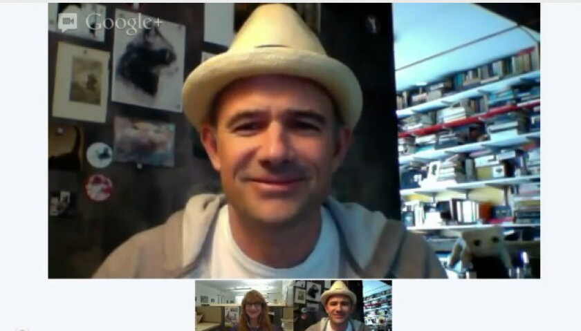 Mark Z. Danielewski joined us for a video chat about his books.