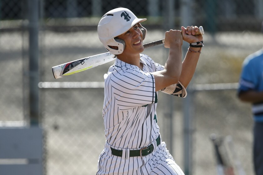 Helix shortstop Jordan Thompson has made a commitment to play college baseball at LSU.
