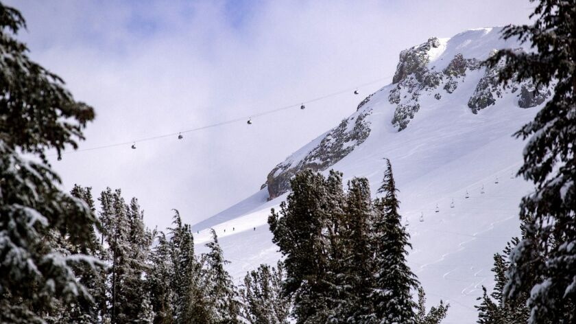 Mammoth Mountain is the Eastern Sierra's answer to spring skiing.