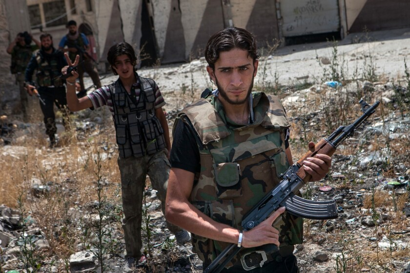 U.S. has provided arms training to Syria rebels since 2012