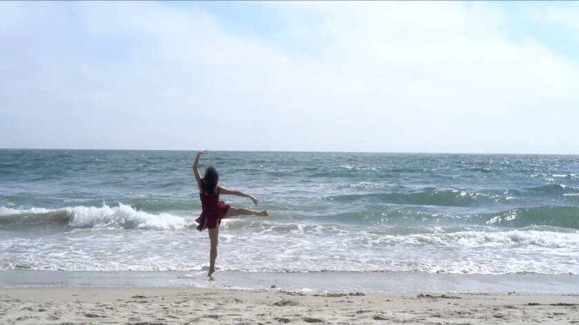 """A scene from the new film """"Grace and Grit: Dance in the Time of Covid"""""""