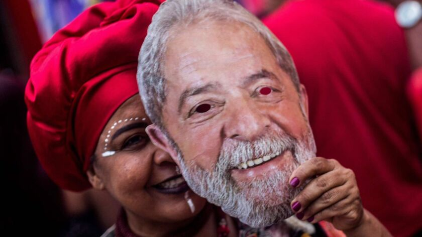 BRAZIL-ELECTION-CAMPAIGN-HADDAD-SUPPORTERS