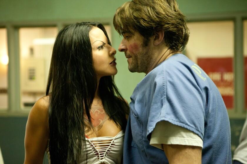 """Kate Del Castillo and Goran Visnjic in """"K-11."""""""