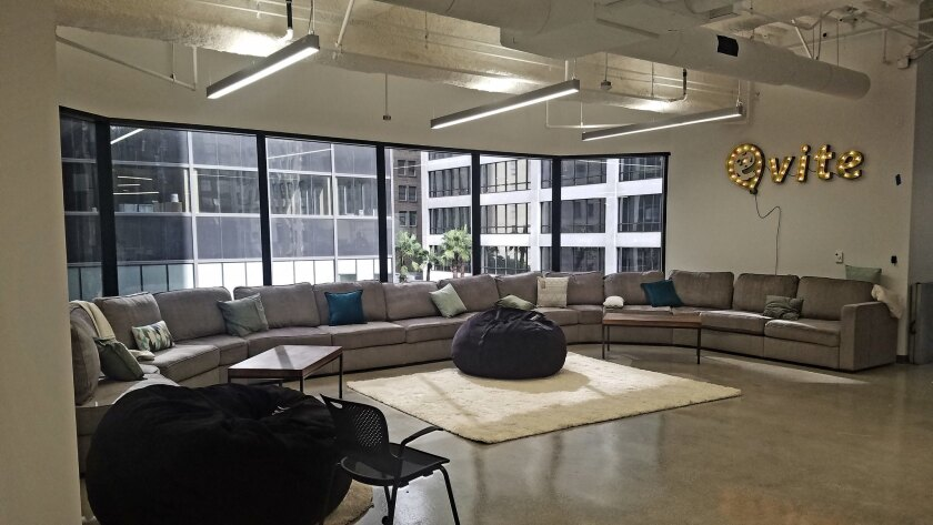 Evite's new office in downtown Los Angeles.