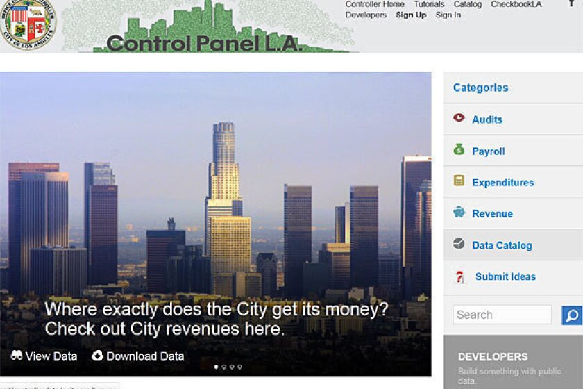 L.A. Now Live: Discuss the L.A. controller's transparency website