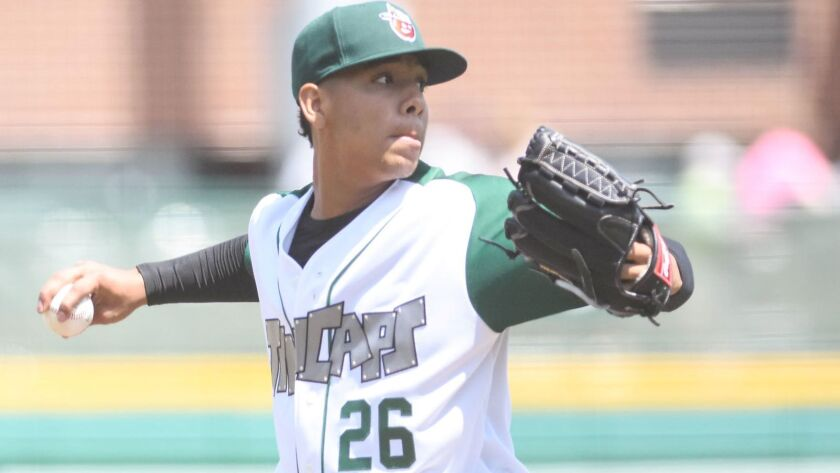 Padres pitching prospect Luis Patino started 2018 at low Single-A Fort Wayne.