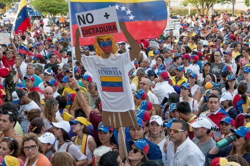 El Gobierno de Estados Unidos anunció hoy la donación de 16 millones de dólares en ayuda humanitaria para los inmigrantes venezolanos. EFE/ARCHIVO