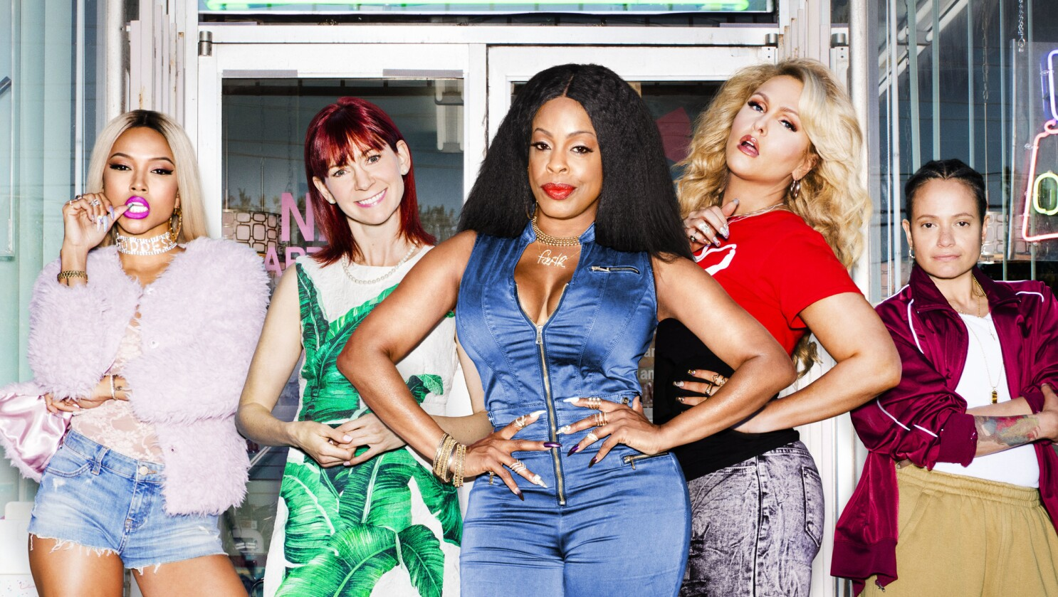 'Claws,' the full-figured, working-class answer to 'Big Little Lies'