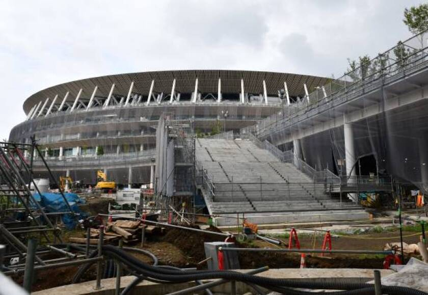 The 2020 Tokyo Olympics, which are scheduled to start a year from Wednesday, will cost an estimated $25 billion, including construction on a new Olympics Stadium.
