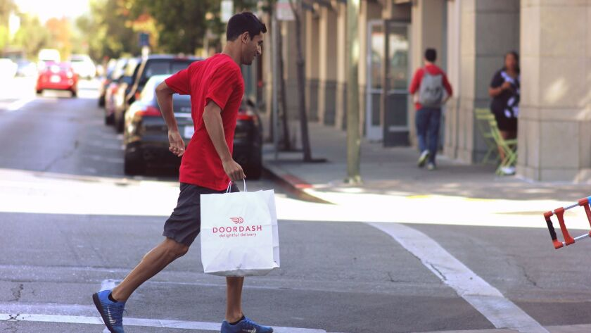 DoorDash, founded in 2013, ranks as the 7th most popular food delivery app in the U.S., reaching less than 0.1 percent of the population, according to a new report.