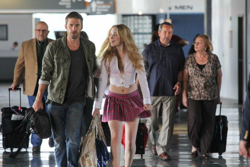 """Scott Speedman (left) and Evan Rachel Wood in """"Barefoot."""""""
