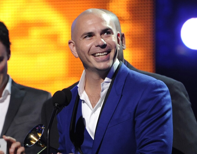 Cuban rapper Pitbull is one of the recipients of the inaugural Icon Award given out by the Streamy Awards.
