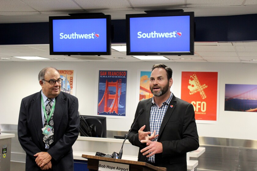 Southwest to begin nonstop flights from Burbank to San Francisco