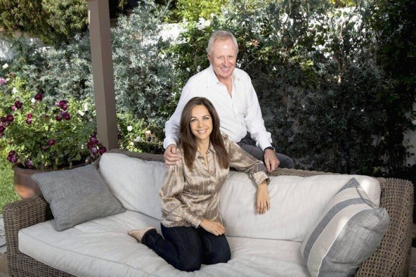 "Bertram van Munster and Elise Doganieri, co-creators of the CBS reality competition ""The Amazing Race,"" in their L.A.-area home."