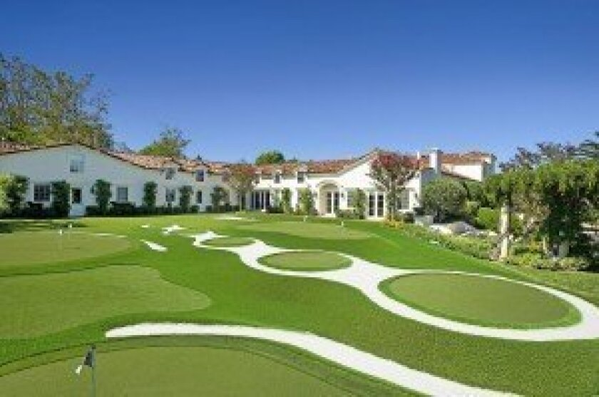 Shots of the El Milagro estate in Rancho Santa Fe. Photos courtesy of ConciergeAuctions.com.