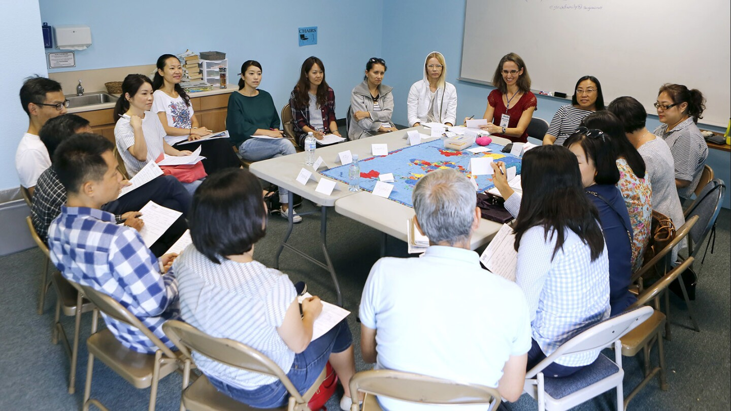 Photo Gallery: English as a Second Language (ESL) classes begin at Voyagers Bible Church in Irvine
