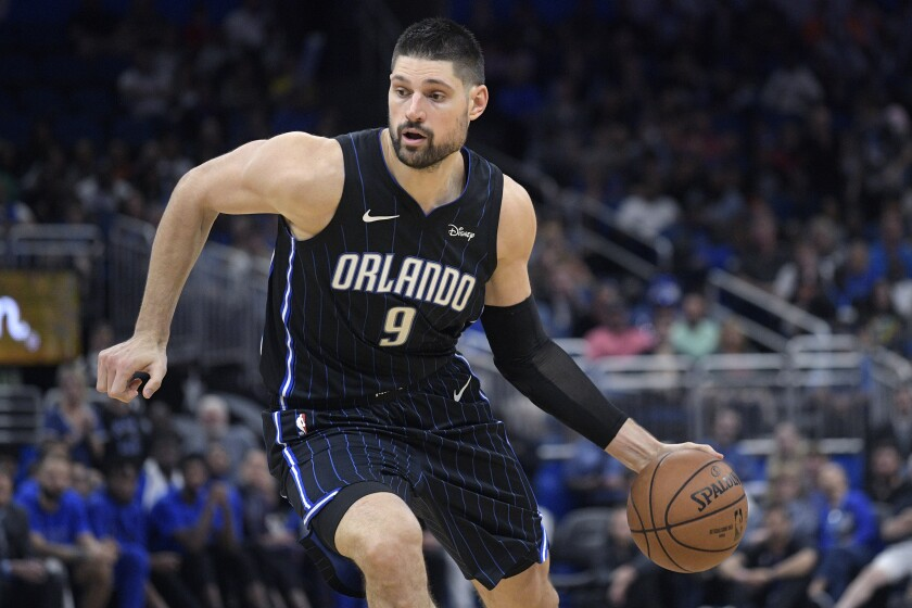 Orlando Magic center Nikola Vucevic isn't complaining about life in the NBA bubble -- at least after Day 1.