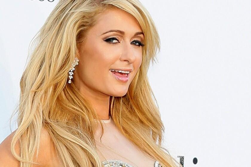 Paris Hilton during the Cannes Film Festival.