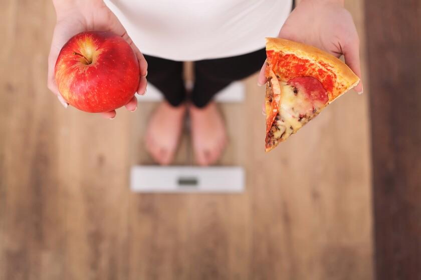 Una porción de pizza no debe considerarse como un desliz por el que debemos castigarnos.