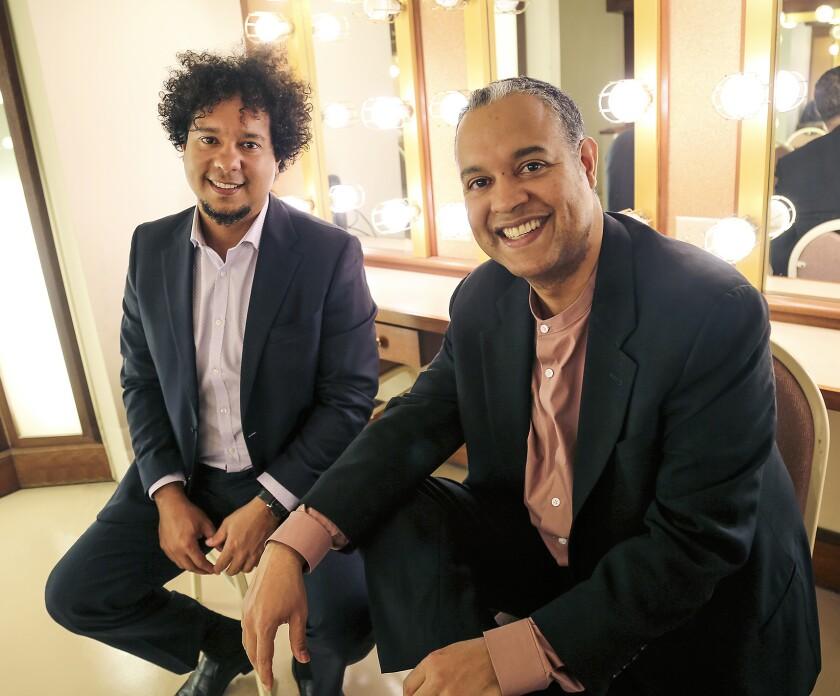 Aldo López-Gavilán, a la izquierda, e Ilmar López-Gavilán