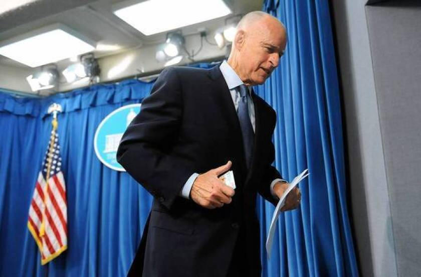 Jerry Brown being treated for prostate cancer