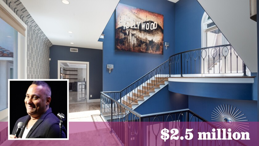 Comic Russell Peters Sells His Studio City Home For 2 5 Million Los Angeles Times