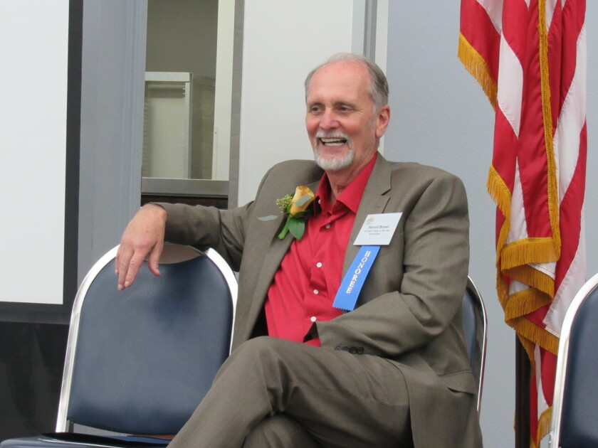 Harold Brown, CEO of the East County Transitional Living Center, was named the 2019 El Cajon Citizen of the Year and honored at a luncheon on Feb. 10 at the Ronald Reagan Community Center.