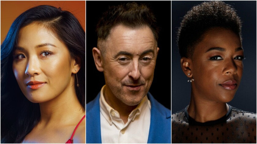 "The stars of ""Uncle Vanya,"" from left, Constance Wu, Alan Cumming and Samira Wiley."