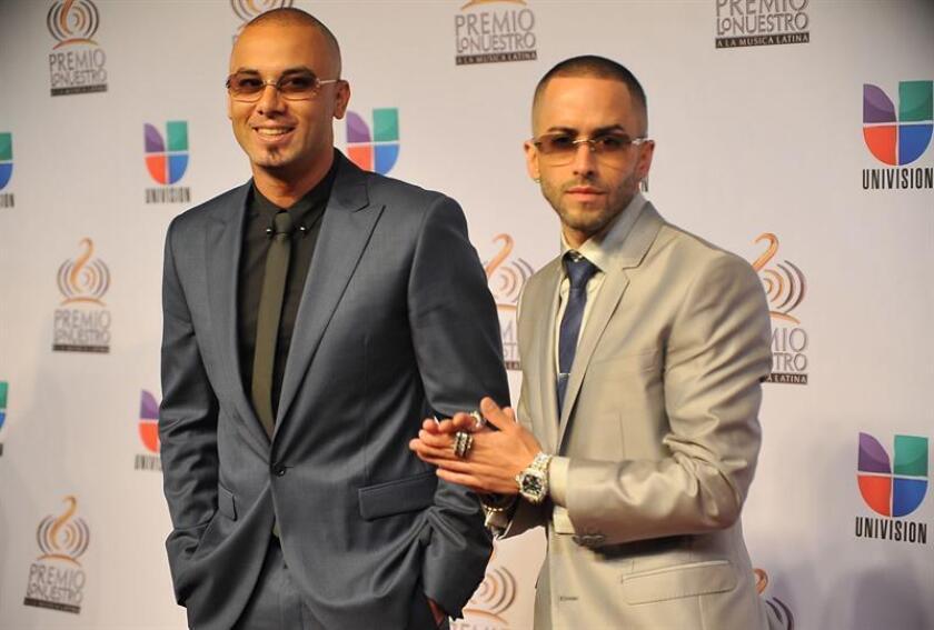 El dúo bocicua Wisin y Yandel. EFE/Archivo