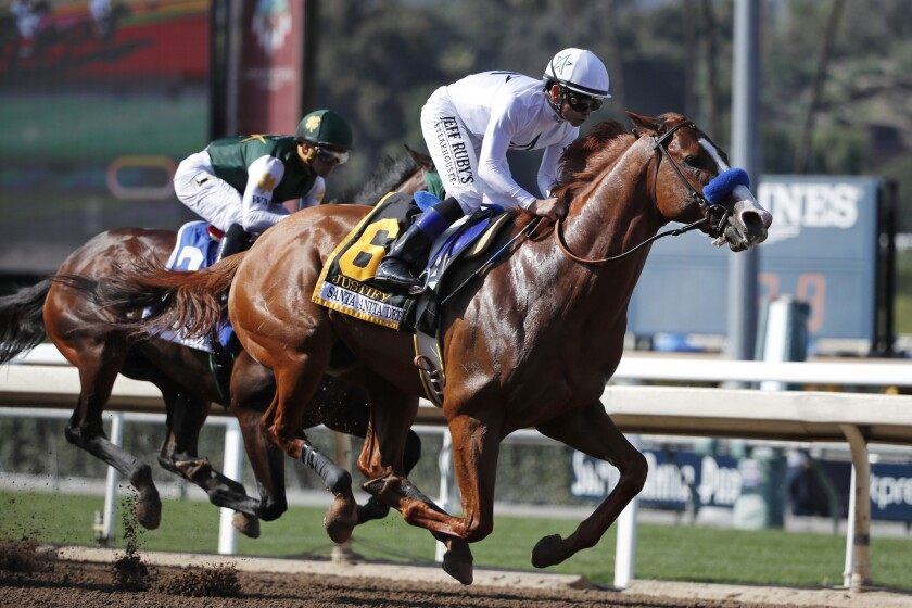 Report: Justify failed drug test before Triple Crown run