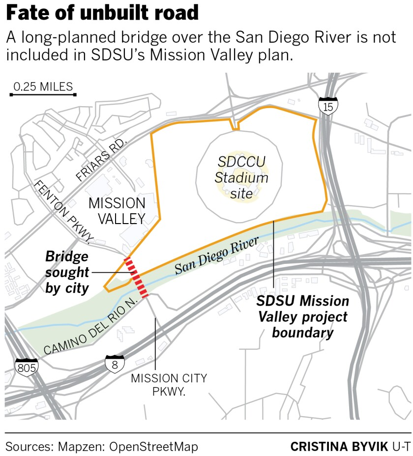 SDSU Mission Valley and the road to nowhere - The San Diego Union-Tribune