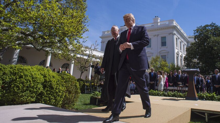 President Donald Trump Supreme Court Justice Neil Gorsuch
