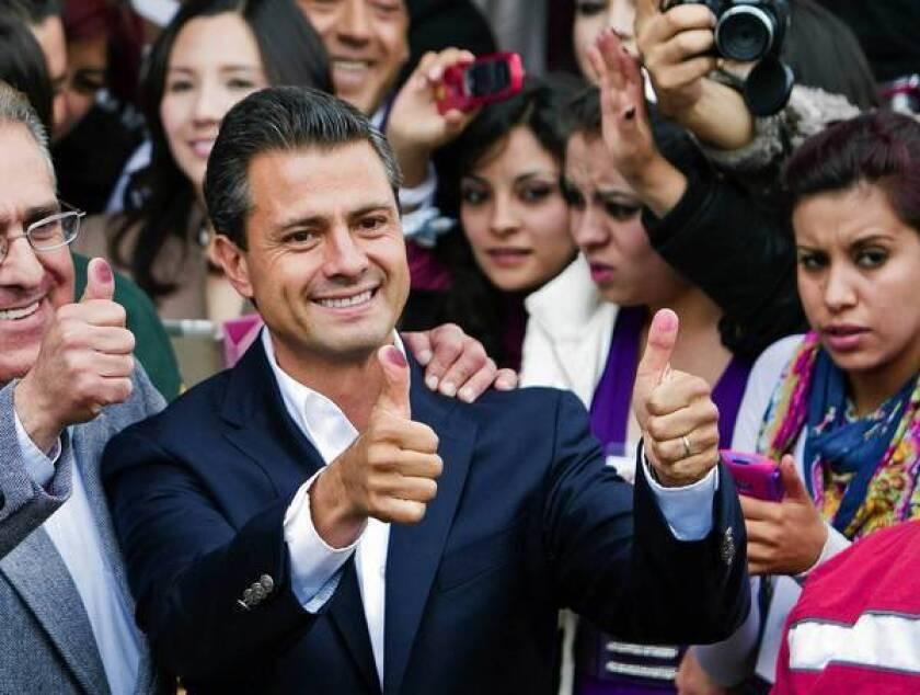 Incoming President Enrique Peña Nieto inherits a bruised Mexico