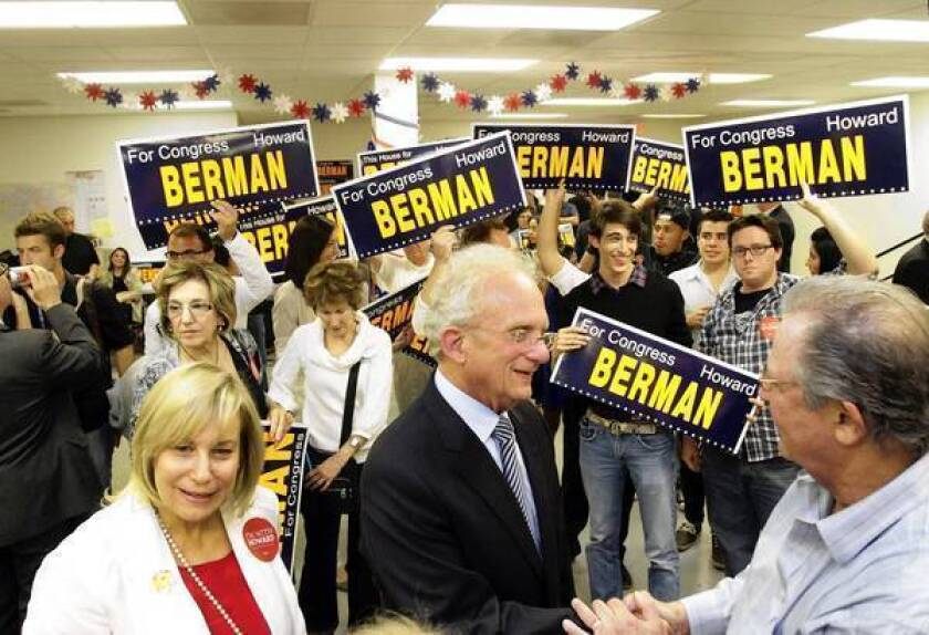 Rep. Howard Berman takes gloves off in race against Brad Sherman