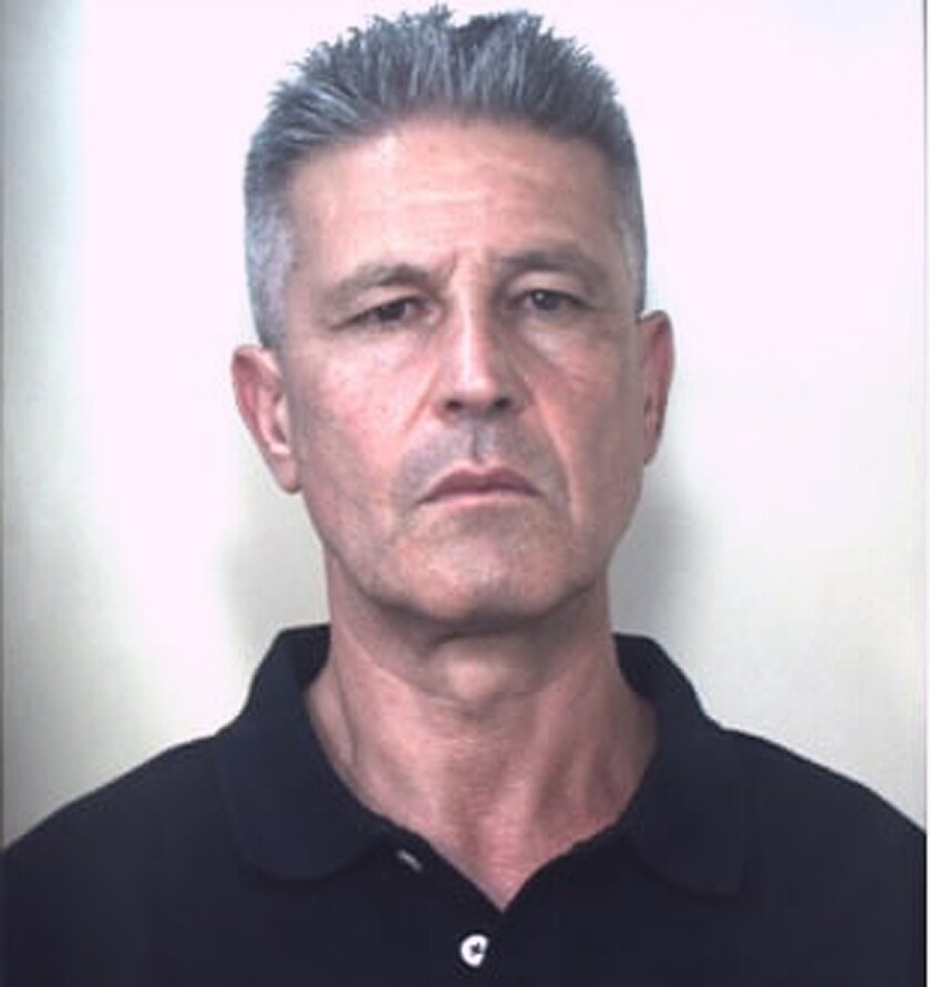 Undated photo released by the Italian Carabiniri of Domenico Paviglianiti. Spain's National Police said in a statement Thursday, Aug. 5, 2021, that Paviglianiti was arrested in a joint operation with the Carabinieri. Police believe Paviglianiti is the head of a 'ndrangheta clan named for him, which operates around the world. Investigators say it has branched out into the rest of Europe, Australia, North and South America and Africa. (Italian Carabinieri via AP)