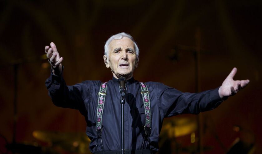 French singer and songwriter Charles Aznavour, who came to fame 70 years ago, will undertake a five-city tour of North America in October.