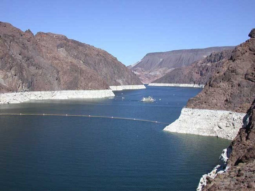 "Lake Mead has been showing the ""bathtub rings"" of drought stress for most of the past decade."