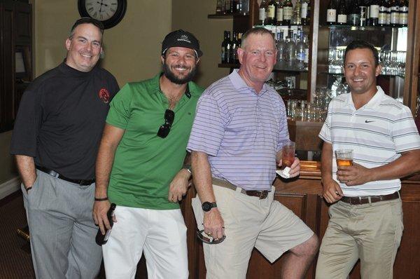 Brad Pagano, Jeff Sgro, Scott Abell, Chris Kelly