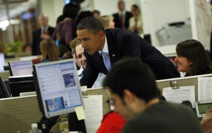 La Casa Blanca preservará el material creado para sus redes sociales en los últimos ocho años de gobierno del presidente de Barack Obama, que el próximo 20 de enero dejará el poder. EFE/ARCHIVO