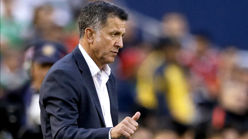 Mexico Coach Juan Carlos Osorio is reserved and meticulous, and a tactician who is rarely caught unprepared.