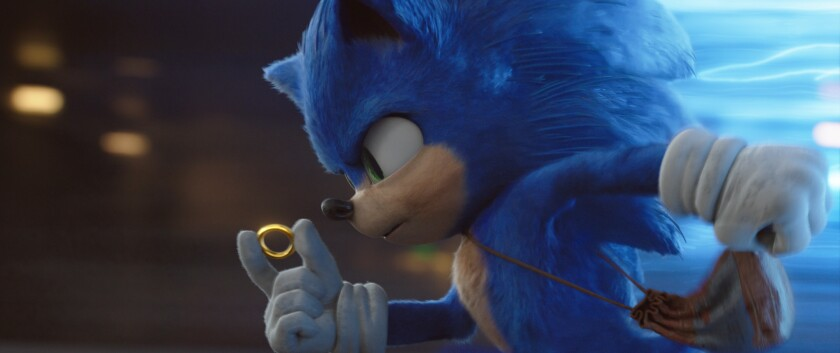 Box office: 'Sonic the Hedgehog' breaks record for video game adaptation